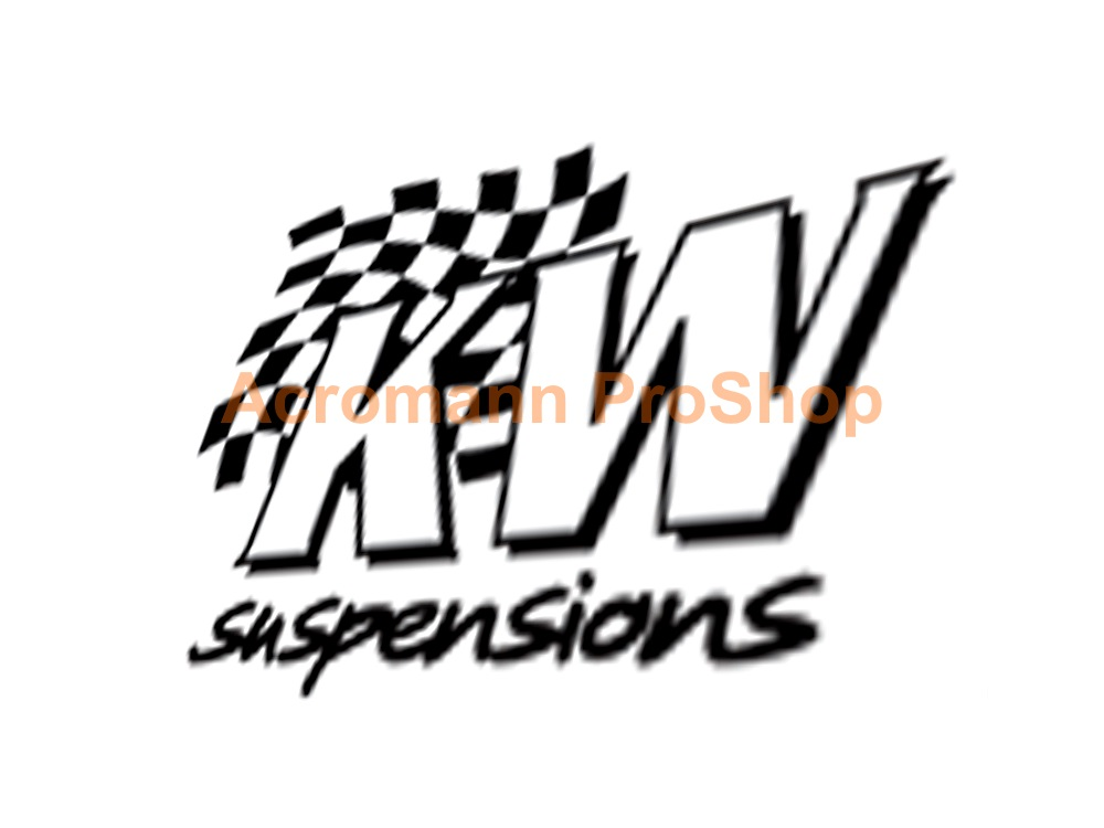 KW Suspensions 6inch Decal (Style#4) x 2 pcs